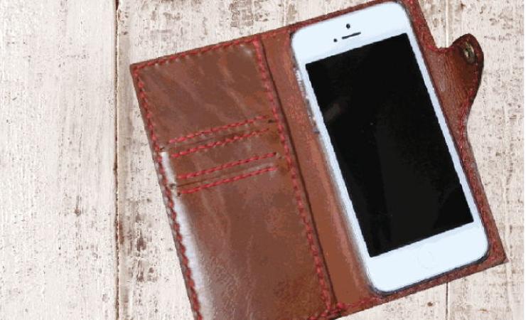 iphoneケースノート型
